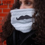 DIY mon col Moustache ! DIY my moustache collar !