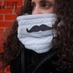DIY mon col Moustache ! DIY my moustache collar !
