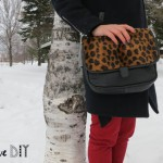 DIY un sac léopard ! DIY my leopard print purse !
