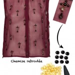 DIY Inspiration :Chemise rebrodée | Embroided shirt