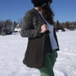 DIY : On recycle une jupe en laine en sac | Recycle your wool skirt in a purse
