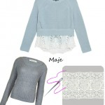 DIY INSPIRATION : Le pull Maje Crop | Maje crop sweater