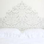 DIY Inspiration : tête de lit papier peint | Wallpaper bedhead