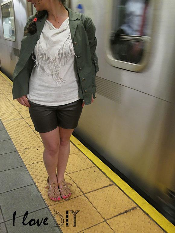 i love leather shorts