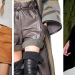 DIY Inspiration : Short en cuir | Leather shorts
