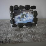 DIY : Un cadre galet | Stone frame