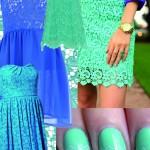 DIY INSPIRATION : Dentelle bleue I Bleu lace