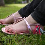 DIY : On customise ses sandales | Customize your sandals