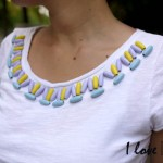 DIY : Un tee-shirt ethnique I Ethnic tee-shirt
