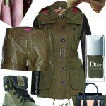 DIY INSPIRATION : Kaki et cuir | Khaki and leather