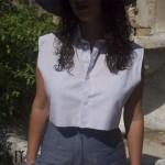 DIY: Une chemise crop | Crop shirt