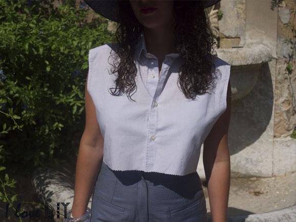 chemise crop ilove diy
