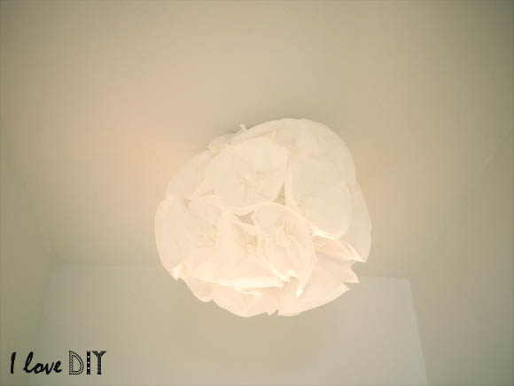 diy une suspension en papier paper lighting blog mode bon plans et diy. Black Bedroom Furniture Sets. Home Design Ideas