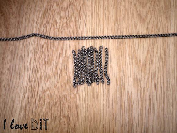 3 on obtient une grande chaine et des petites chaines