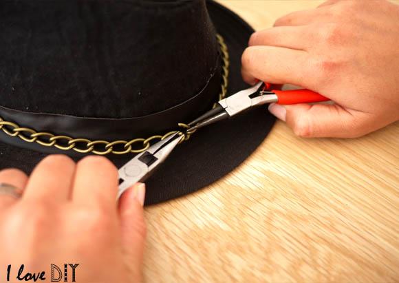 9 et refermer la chaine en faisant le tour