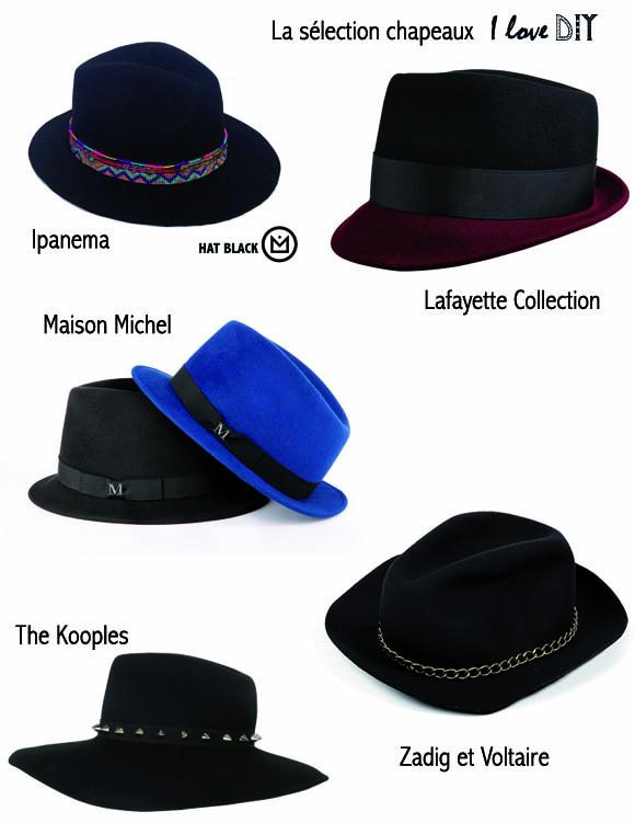 la selection chapeaux ilove diy