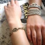 DIY : Des bracelets serpent | Snake bracelets