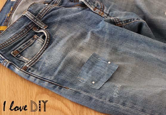 8 epinglez les patchs en jeans