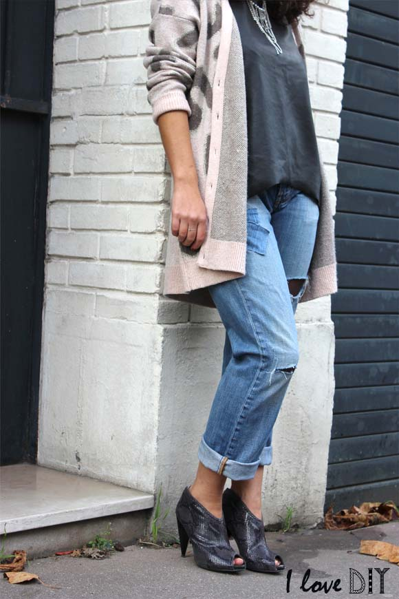 JEANS RESILLE DIY