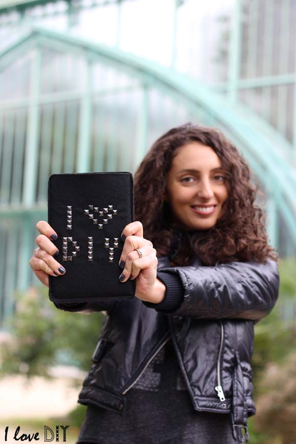 pochette pour tablette DIY Ilovedoityourself