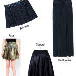 Trend Alerte : La jupe plissée
