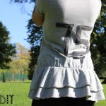 DIY : Customisez un sweat avec des numéros dans le dos | Customize a sweatshirt with numbers
