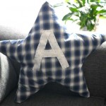 DIY : Un coussin étoile  | Star cushion