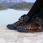 DIY : Customiser des baskets avec du léopard | Customize your sneakers with leopard