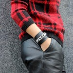 DIY : Un bracelet rock chaîne et cuir | Rock bangle chain and leather