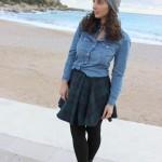 DIY : Une jupe tartan qui tourne ou comment faire une jupe sans fermeture éclair ni élastique à la taille | Turning skirt or how to realize a skirt without zipper or elastic