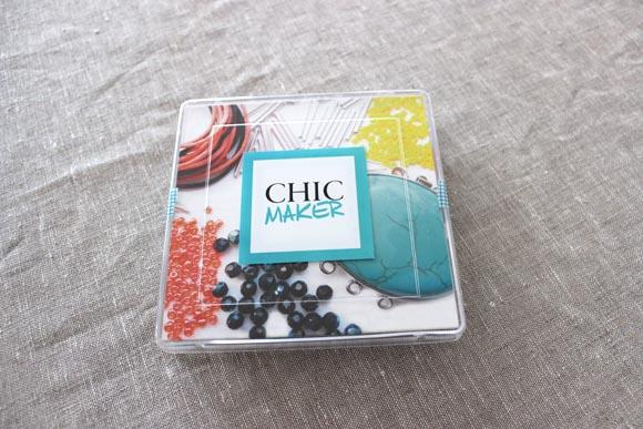 Idées cadeaux la box bijoux chic maker