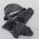 DIY : Fabriquez des gants et un bonnet sans tricoter | Make a beanie and mitten without knitting