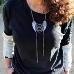DIY : Customisez un pull avec des manches en cuir | Customize your sweater with leather sleeves