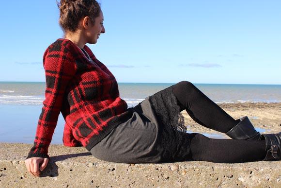 DIY customisez une jupe avec de la dentelle ILOVEDIY10
