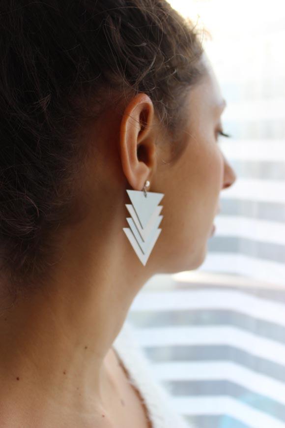 boucles d oreilles en cuir diy