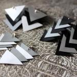 DIY : Fabriquez des boucles d'oreilles géométriques