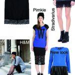 Sélection shopping : La jupe ourlet dentelle
