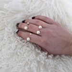 DIY : Bague double perles | Double pearl ring