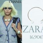 Le collier perles XXL : Chanel versus Zara