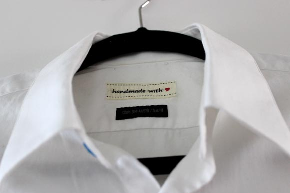 etiquette personnalisée handmade with love ilovedoityourself