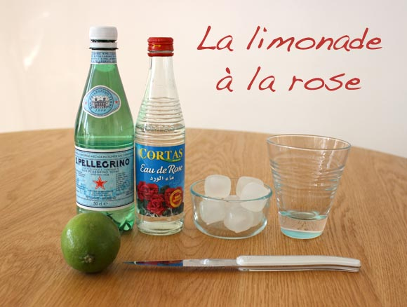 La limonade à la rose version ilovedoityourself