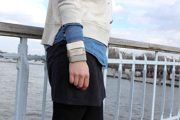 des bracelets cubes en plastique recyclé4