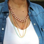 DIY : Collier chaîne pastel | Pastel chain necklace