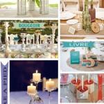 DIY Mariage : Détourner les objets du quotidien pour sa déco de table