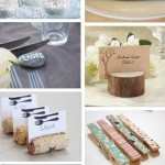 DIY Spécial Mariage : Inspiration marques-places