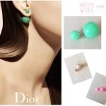 Bon plan : Ersatz des boucles d'oreilles Mise en Dior à 4,90€