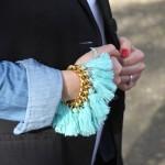 DIY : Bracelet Pompons | Tassel bracelet