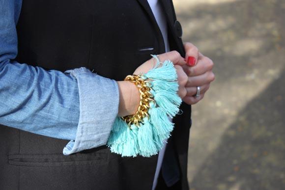 diy un bracelet pompom6