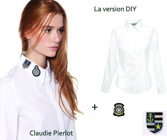 la chemise claudie pierlot ou la version DIY