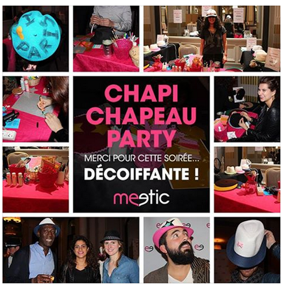 meetic soiree chapi chapeau